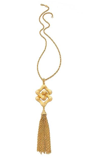 Ben-Amun Portofino Pendant Tassel Necklace