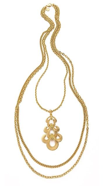 Ben-Amun Portofino Layered Pendant Necklace