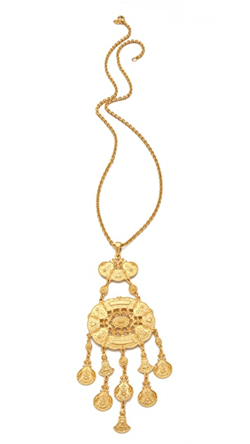 Ben-Amun Boho Long Pendant Necklace