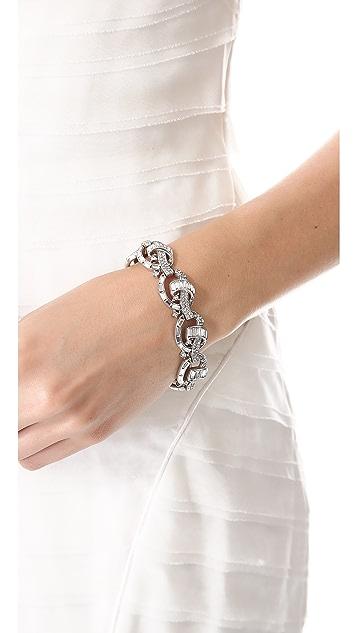Ben-Amun Crystal Knot Bracelet