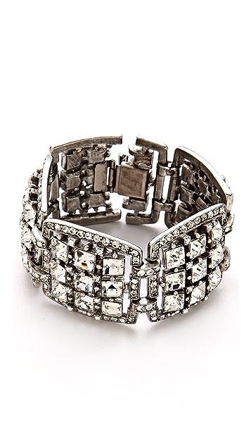 Ben-Amun Crystal Link Bracelet