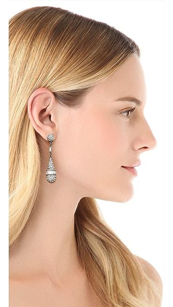 Ben-Amun Crystal Teardrop Earrings