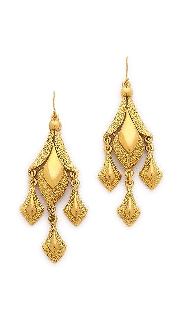 Ben-Amun Triple Drop Earrings