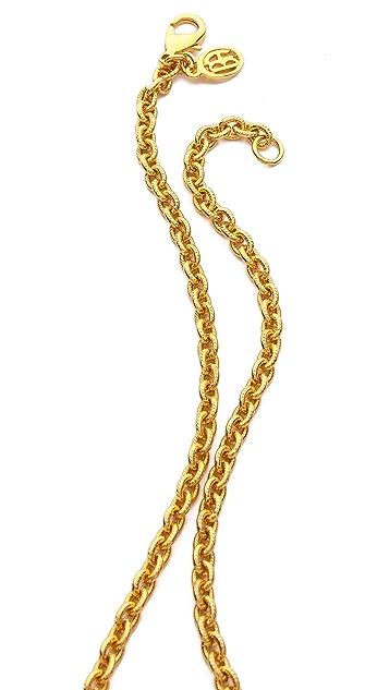 Ben-Amun Stone Tassel Pendant Necklace