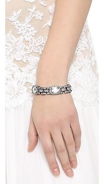 Ben-Amun Heirloom Crystal Bracelet