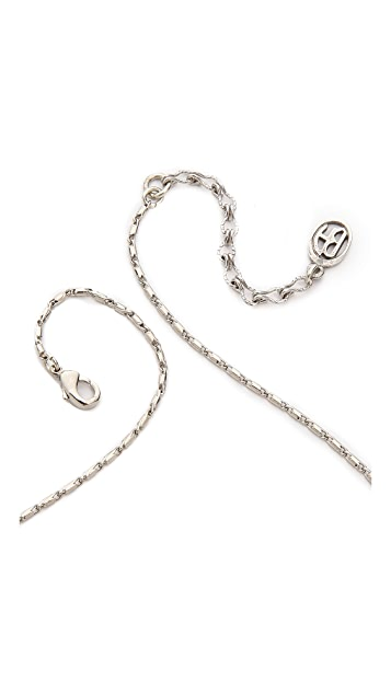 Ben-Amun Deco Crystal Necklace