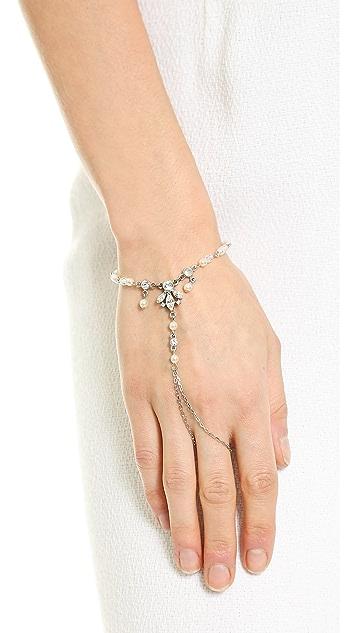 Ben-Amun Imitation Pearl Hand Piece