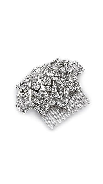 Ben-Amun Crystal Web Hair Comb