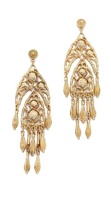 Ben-Amun Dreamcatcher Chandelier Earrings