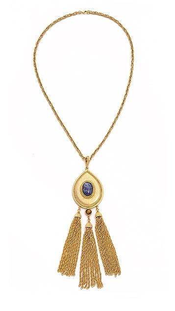 Ben-Amun Long Tassel Necklace