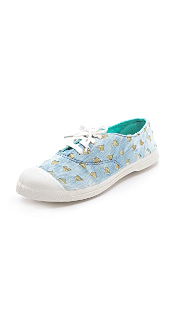 Bensimon Limited Edition Glitter Love Sneakers