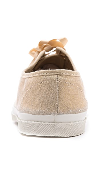 Bensimon Limited Edition Linen Sneakers