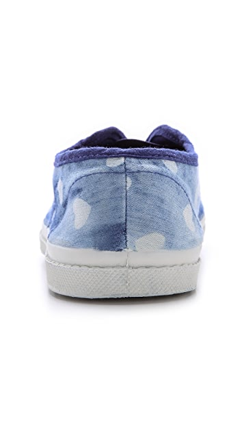 Bensimon Limited Edition Elly Bleach Love Sneakers