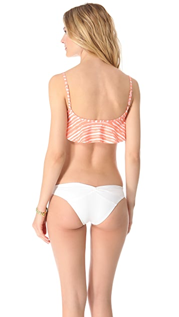 Bettinis Coast Stripes Bikini Top