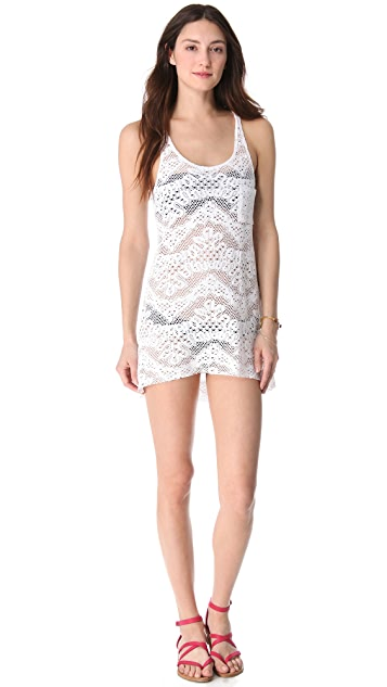 Bettinis Crochet Cover Up Dress