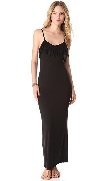 Bettinis Fringe Cover Up Dress