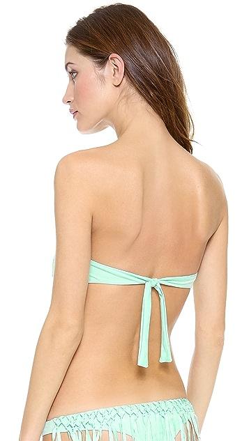 Bettinis Too Haute to Handle Fringe Bikini Top