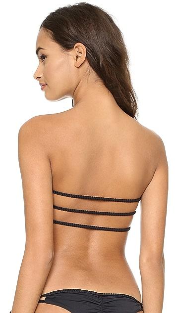 Bettinis Braided Triangle Bikini Top