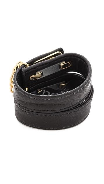 BEX nyc Leather Handcuff Bracelet