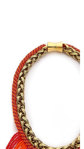 Bex Rox Mini Short Beaded Maasai Necklace