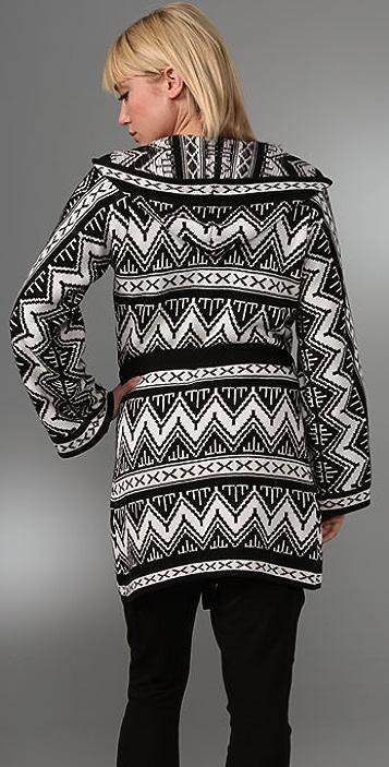 Beyond Vintage Wrap Sweater
