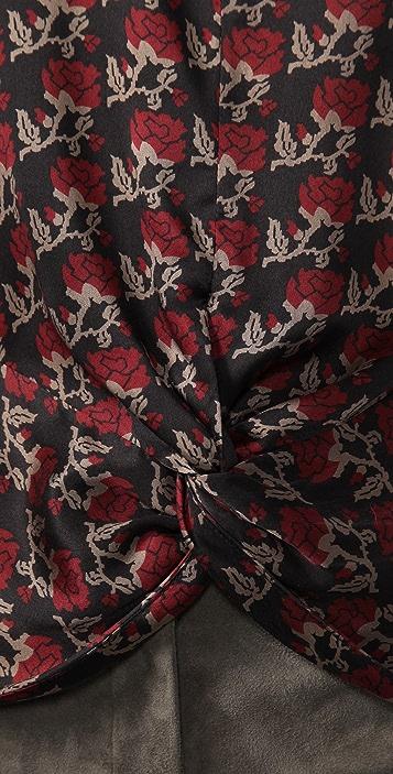Beyond Vintage Vintage Rose Top