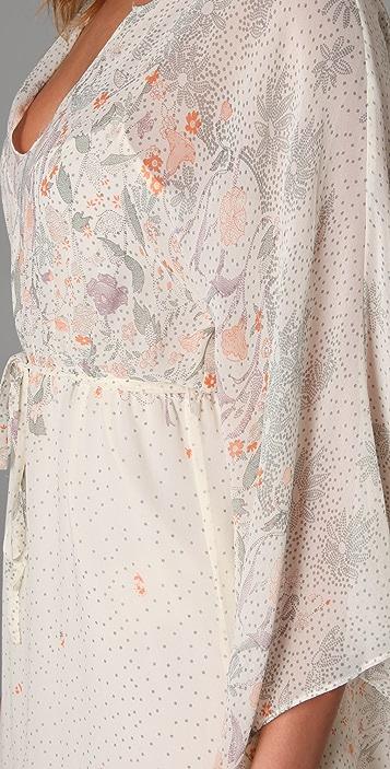Beyond Vintage Kimono Sleeve Dress