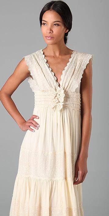 Beyond Vintage Intricate EMB Wedding Dress