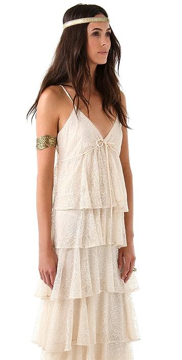 Beyond Vintage Lace Maxi Dress