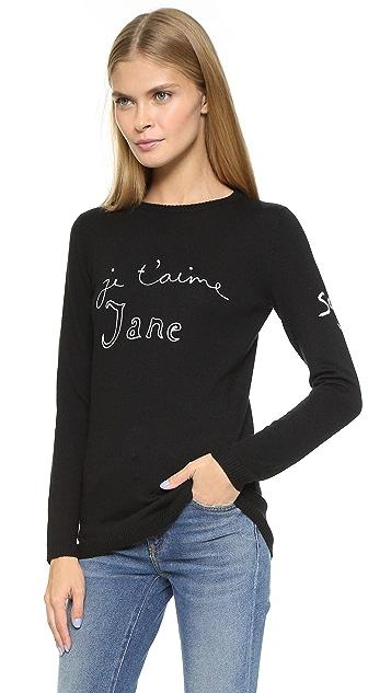 Bella Freud Je T'Aime Jane Sweater