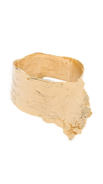 Brooklyn Heavy Metal Bark Cuff
