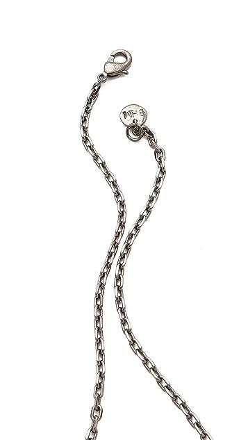 Brooklyn Heavy Metal Stone Age Necklace