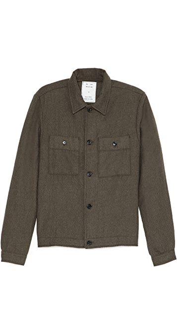 Billy Reid Wheeler Shirt Jacket
