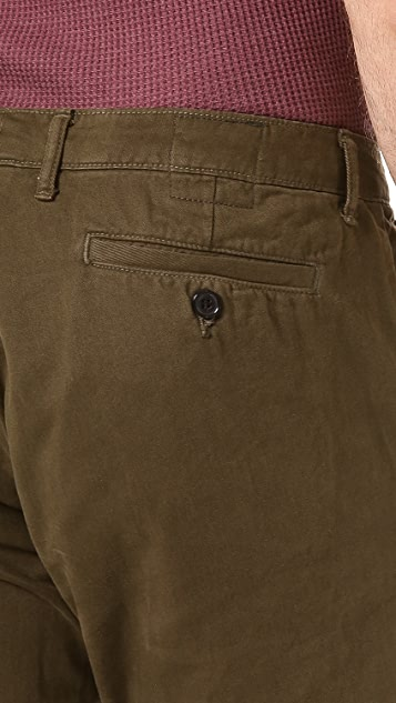 Billy Reid Military Chinos