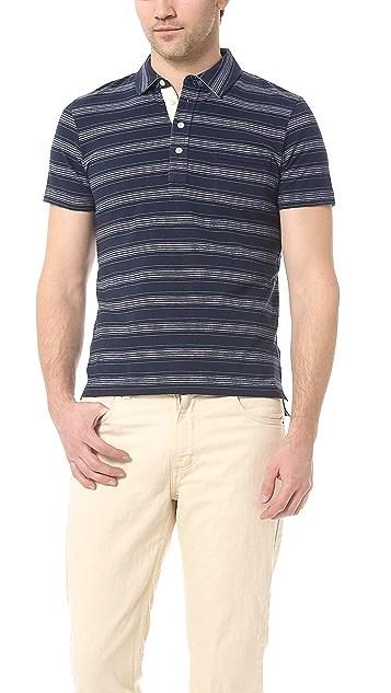 Billy Reid Pensacola Polo Shirt