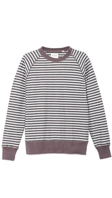 Billy Reid Elton Crew Sweatshirt