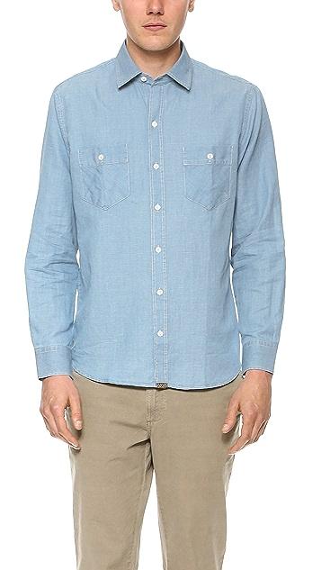 Billy Reid Dothan Camp Shirt