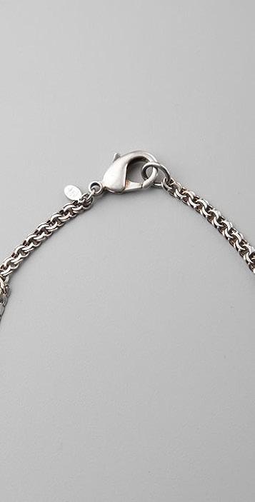 Bing Bang Crystal Mixed Chain Necklace