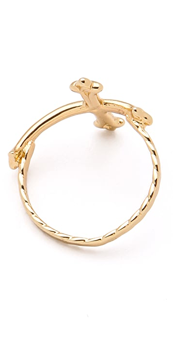 Bing Bang Victorian Cross Ring