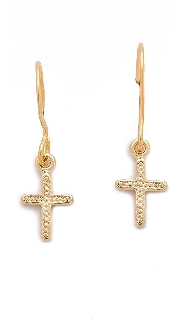 Bing Bang Vivienne Cross Earrings