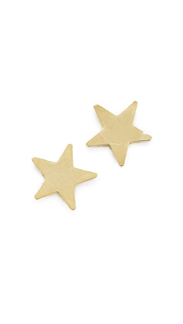 Bing Bang Star Stud Earrings