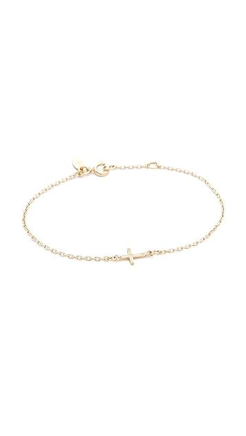 Bing Bang Cross Chain Bracelet