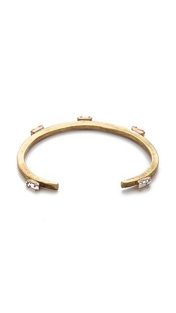 Bing Bang Five Baguettes Cuff Bracelet