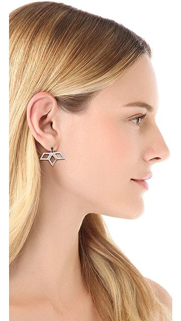 Bing Bang Fan Stud Earrings