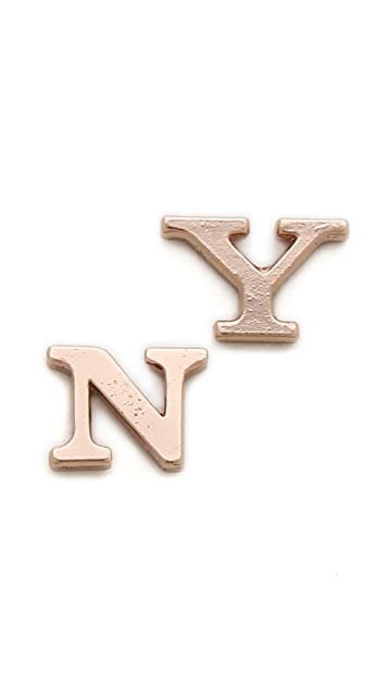 Bing Bang NY Stud Earrings