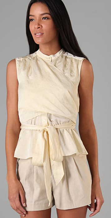 Bird by Juicy Couture Luminous Sleeveless Blouse