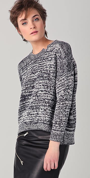 Bird by Juicy Couture Matte & Shine Sweater