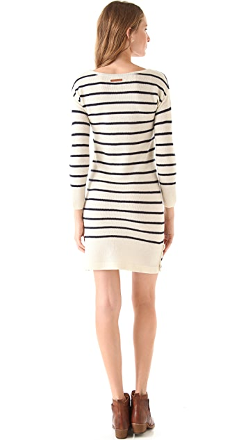 Birds of Paradis by Trovata Striped Sweater Dress