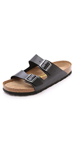 Birkenstock - Amalfi Leather Soft Footbed Arizona Sandals