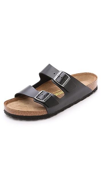 Birkenstock Amalfi Leather Soft Footbed Arizona Sandals